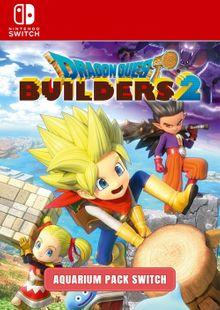 Dragon Quest Builders 2 - Aquarium Pack Switch clé pas cher à télécharger