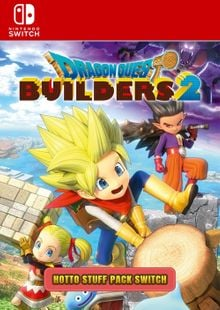 Dragon Quest Builders 2 - Hotto Stuff Pack Switch clé pas cher à télécharger