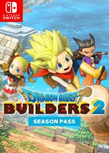 Dragon Quest Builders 2 - Season Pass Switch clé pas cher à télécharger