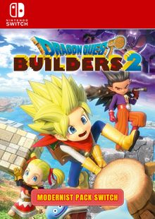 Dragon Quest Builders 2 - Modernist Pack Switch clé pas cher à télécharger