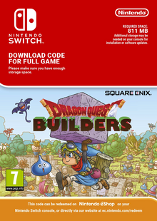 Dragon Quest Builders Switch clé pas cher à télécharger