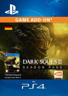 Dark Souls 3 Season pass PS4 (Germany) cheap key to download