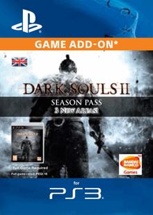 Dark Souls II 2 Season Pass PS3 cheap key to download