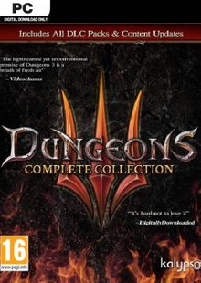 Dungeons III - Complete Collection PC cheap key to download