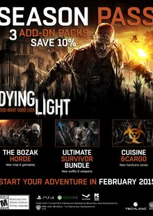 Dying Light Season Pass PC billig Schlüssel zum Download