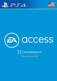 EA Access 12 Month PS4 (US) cheap key to download