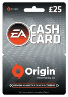 EA Origin Cash Card - 25 GBP cheap key to download