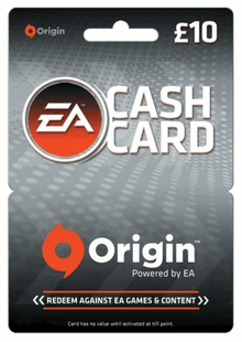 EA Origin Cash Card - 10 GBP cheap key to download