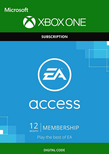 EA Access - 12 Monate Abonnement (Xbox One) billig Schlüssel zum Download