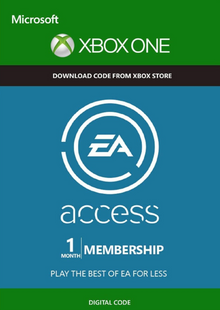 EA Access - 1 Month Subscription Xbox One Trial billig Schlüssel zum Download