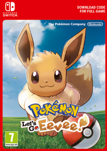Pokemon Let's Go! Eevee Switch cheap key to download