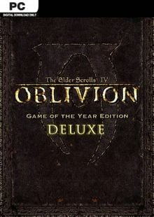 The Elder Scrolls IV 4 Oblivion® Game of the Year Edition Deluxe PC cheap key to download