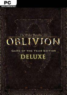 The Elder Scrolls IV 4 Oblivion® Game of the Year Edition Deluxe PC clé pas cher à télécharger