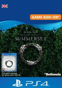 The Elder Scrolls Online: Summerset Upgrade Edition PS4 (UK) billig Schlüssel zum Download