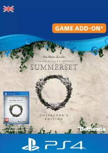 The Elder Scrolls Online: Summerset Collector's Upgrade PS4 (UK) billig Schlüssel zum Download
