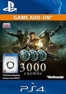 The Elder Scrolls Online - 3000 Crowns PS4 cheap key to download