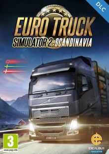 Euro Truck Simulator 2 - Scandinavia DLC PC cheap key to download