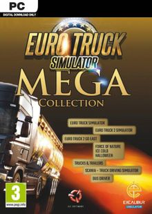 Euro Truck Simulator: Mega Collection PC cheap key to download