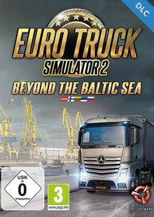 Euro Truck Simulator 2 Beyond the Baltic Sea DLC PC clave barata para descarga