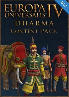 Europa Universalis IV 4 Dharma Content Pack PC cheap key to download