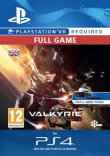 EVE Valkyrie VR PS4 cheap key to download