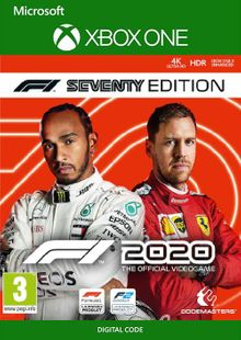 F1 2020 Seventy Edition Xbox One (US) cheap key to download