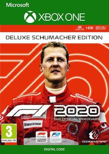 F1 2020 Deluxe Schumacher Edition Xbox One (EU) cheap key to download