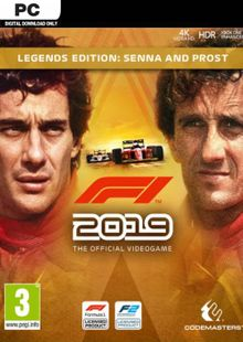 F1 2019 Legends Edition PC billig Schlüssel zum Download