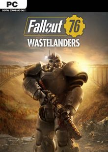 Fallout 76: Wastelanders PC (EMEA) billig Schlüssel zum Download