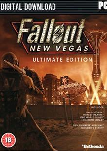 Fallout: New Vegas Ultimate Edition PC clé pas cher à télécharger