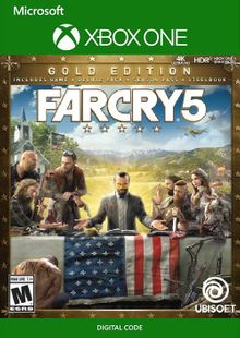 Far Cry 5 - Gold Edition Xbox One (UK) cheap key to download