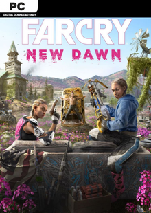 Far Cry New Dawn PC + DLC cheap key to download