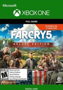 Far Cry 5 Deluxe Edition Xbox One cheap key to download