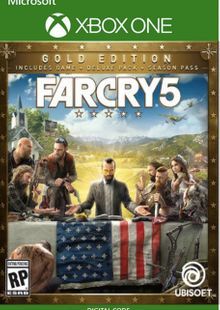 Far Cry 5 Gold Edition Xbox One cheap key to download