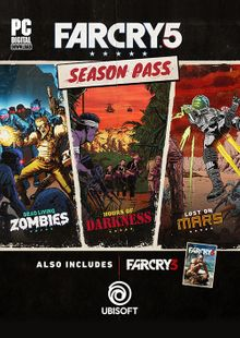 Far Cry 5 Season Pass PC cheap key to download