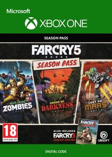 Far Cry 5 Season Pass Xbox One cheap key to download