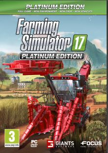 Farming Simulator 17 Platinum Edition PC cheap key to download