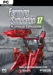 Farming Simulator 17 - Platinum Expansion PC clé pas cher à télécharger