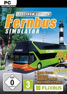 Fernbus Simulator - Platinum Edition PC billig Schlüssel zum Download