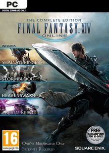 Final Fantasy XIV 14 Online Complete Edition Inc. Shadowbringers PC cheap key to download