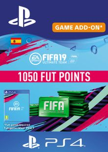 Fifa 19 - 1050 FUT Points PS4 (Spain) cheap key to download