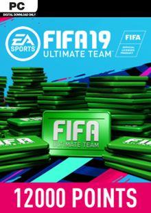 FIFA 19 12000 FUT Points PC billig Schlüssel zum Download