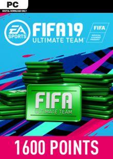 FIFA 19 1600 FUT Points PC billig Schlüssel zum Download