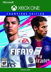 Fifa 19 Champions Edition Xbox One cheap key to download