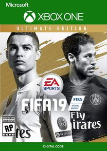 Fifa 19 Ultimate Edition Xbox One billig Schlüssel zum Download