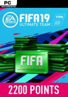 FIFA 19 2200 FUT Points PC billig Schlüssel zum Download