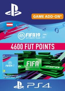 Fifa 19 - 4600 FUT Points PS4 (Austria) cheap key to download