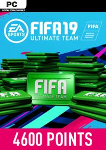 FIFA 19 4600 FUT Points PC billig Schlüssel zum Download