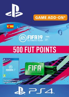 Fifa 19 - 500 FUT Points PS4 (Spain) cheap key to download