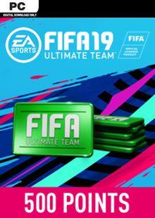 FIFA 19 - 500 FUT Points PC billig Schlüssel zum Download
